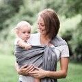 Transpirable porta bebés frontal frente a la porta bebé sling backpack infantil cómodo newborn pouch abrigo del bebé canguro