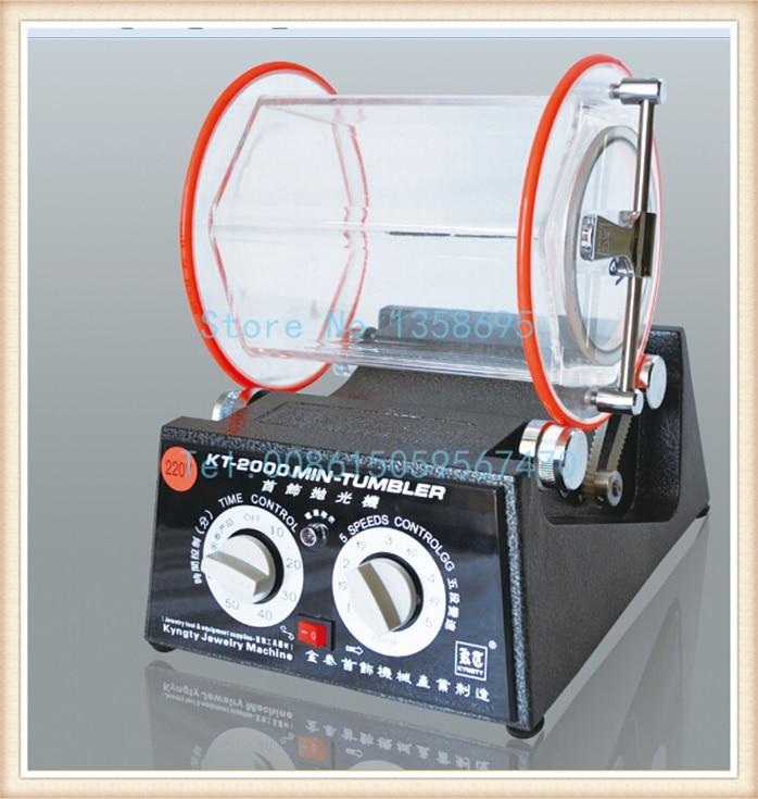 New Jewelry Rotary Polisher, New Rotary Tumbler With Capacity 5kg, Drum Polishing Machines Jewelry,