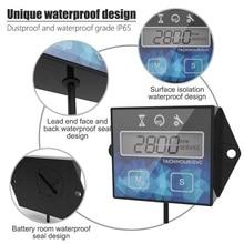 цена на LCD Motorcycle Tachometer IP65 0.1H/1H 1pc ATV Waterproof Meter Speed Timer Reset 3V Parts