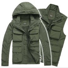 Men's Brand Outdoor Jacket Men Autumn Military Coat Camping Hiking Jackets Outerwear Hunting Clothing Waterproof Jacket