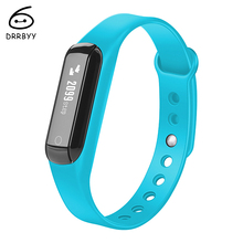 DRRBYY C3 Smart Watch Pedometer Sleep Activity Tracker Sport Fitness Bracelet Bluetooth Smart Wristband for IOS & Android Phone