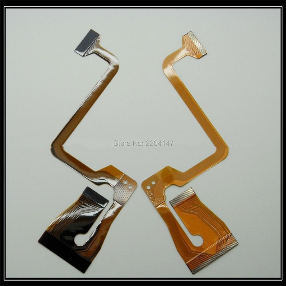 2 PCS/NOUVEAU Pièces De Rechange Pour JVC GR-D850 GR-D850 D859 D870 D875 D750 D950 D825 D820 D815 LCD Flex câble