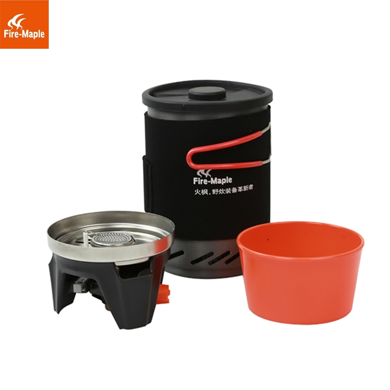 1L Fire Maple Fixed Star 1 Personal Cooking System Outdoor Hiking Camping Equipment Oven Portable Propane