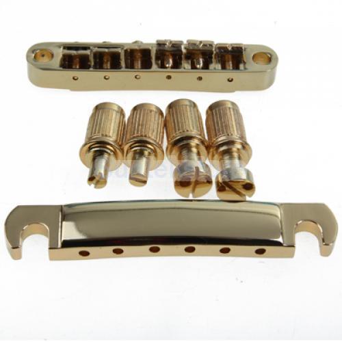 7814b907691 Ouro ABR 1 Ponte e Arremate Parar para Les Paul e Guitarra em Guitar Parts    Accessories de Sports   Entretenimento no AliExpress.com