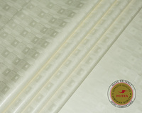 Milk White Bazin Riche Getzner 2019 Most Popular African Bazin Brocade Fabric Lace Embroidered For Men Clothing 10yards/lot
