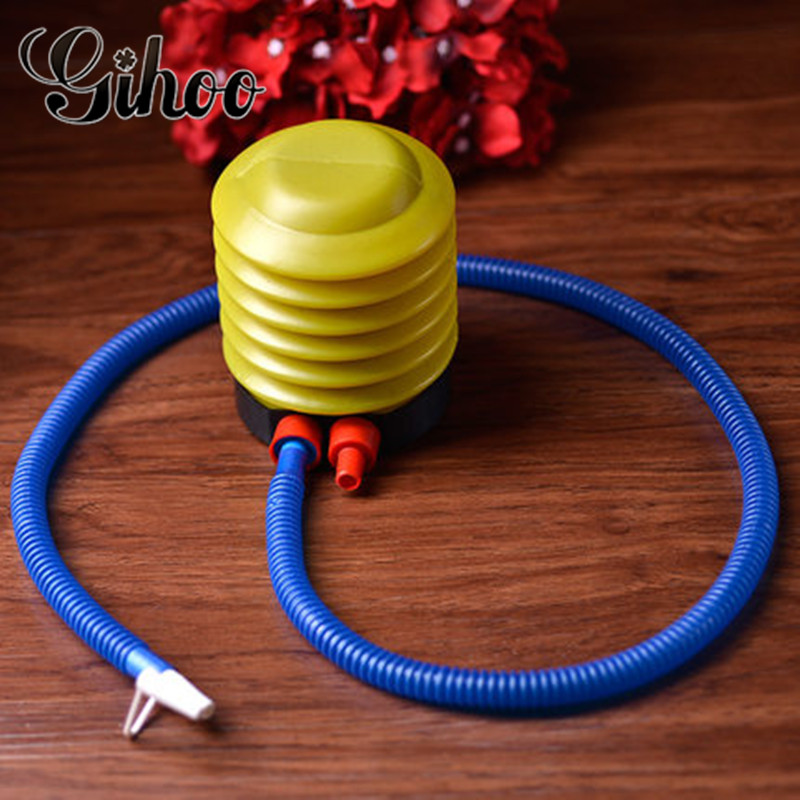 1PC Yellow Foot Pump Plastic Air Pump Balloons Accessories Birthday Party Wedding Supplies for Balloon Air Pump Holiday Supplies