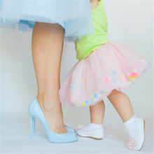 Tiulowa spódniczka z kuleczkami baletnica