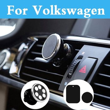Car Magnetic Phone Holder Stand Display Support Gps For Volkswagen Tiguan Touareg Up Xl1 Polo Gti Polo R Wrc Scirocco Scirocco R image