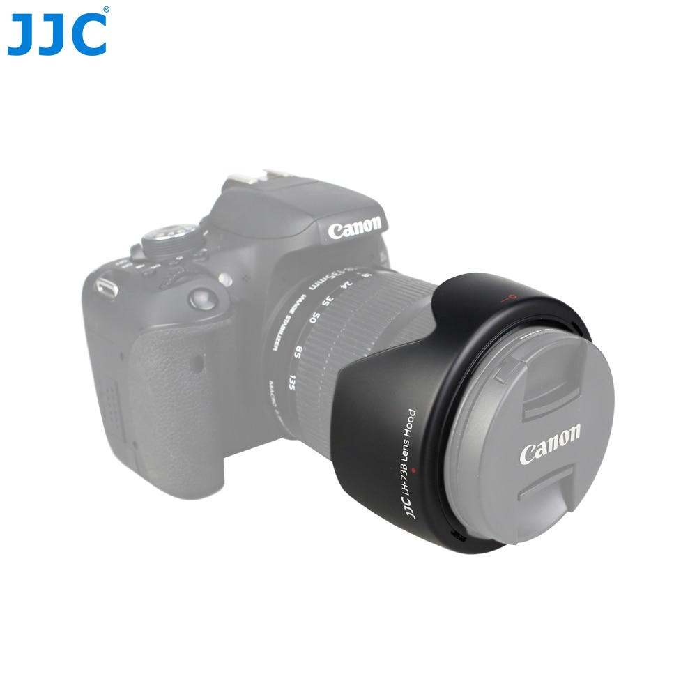 JJC LH-73B Bayonet Camera Lens Hood for Canon EF-S 18-135mm f/3.5-5.6 IS STM/EF-S 17-85 f/4-5.6 IS USM SLR replaces EW-73B new original lens bayonet mount ring repair for canon ef s 18 55mm f 3 5 5 6 is stm lens without cable