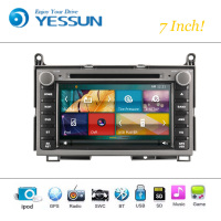 Car DVD Player Wince System For Toyota Venza Autoradio Car Radio Stereo GPS Navigation Multimedia Audio Video