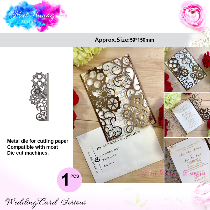 Greeting Cards Flower Style Metal Cutting Dies Paper Cards Diary Crafts PipW IS