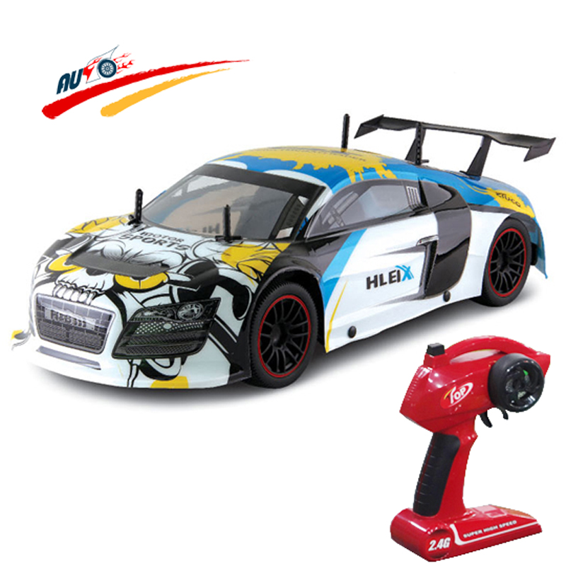 RC Car For R8 GT 2.4G Racing Drift Car 1:10 High Speed Champion Car Radio Control Vehicle Model Electric Hobby Toy large rc car 1 10 high speed racing car for mitsubishi championship 2 4g 4wd radio control sport drift racing electronic toy