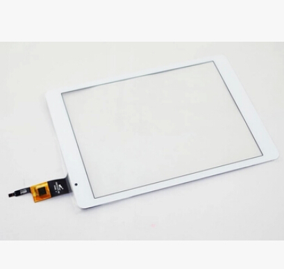 White New 9.7 inch Tablet OLM-097D0761-FPC VER.2 Touch Screen Touch Panel Digitizer Glass Sensor Replacement Free Shipping new for 7 yld ceg7253 fpc a0 tablet touch screen digitizer panel yld ceg7253 fpc ao sensor glass replacement free ship