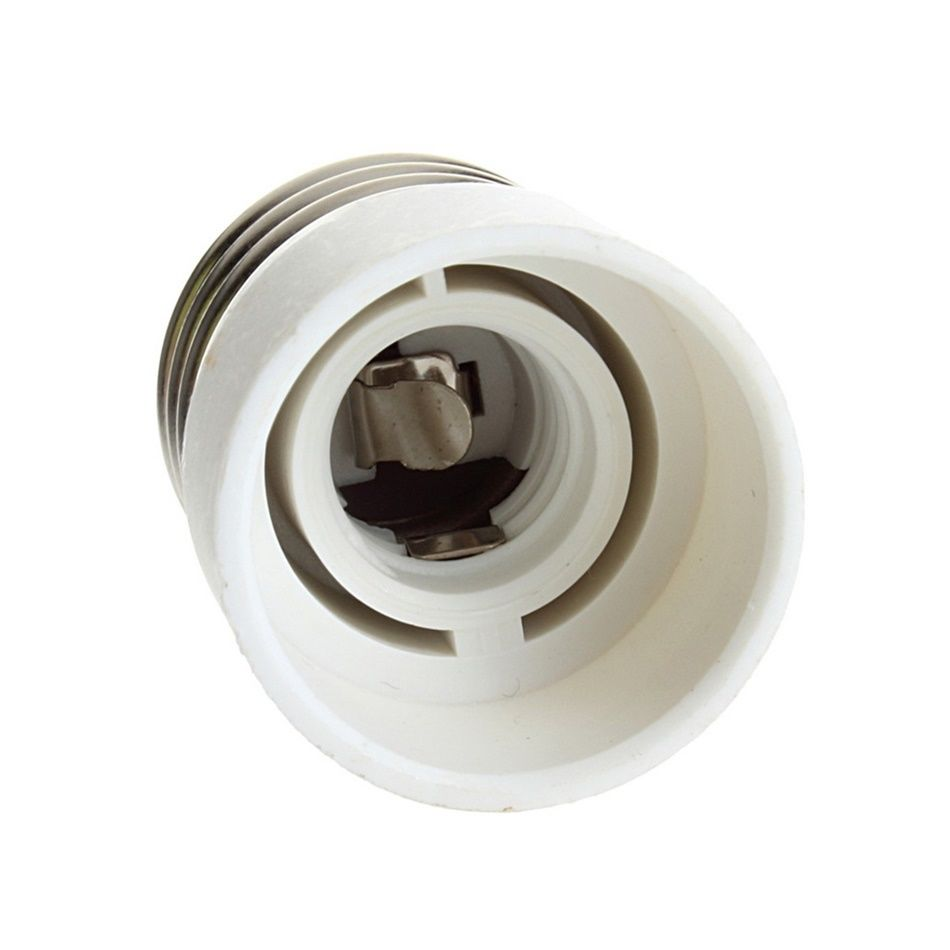 1Pcs New Fireproof Material E27 To E14 Lamp Holder Converter Socket Conversion Light Bulb Base Type Adapter