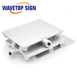 Image 4 - WaveTopSign 2D Worktable Fiber Laser Mark Machine 2 Axis Moving Table 300*220*90mm XY Table