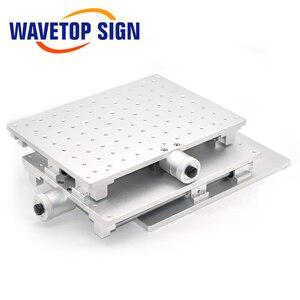 Image 4 - WaveTopSign 2D Worktable Sợi Laser Mark Máy 2 Trục Di Chuyển Bàn 300X220X90Mm XY Bàn