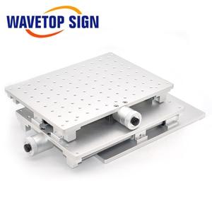 Image 4 - Wavetopsign 2D Werktafel Fiber Laser Merk Machine 2 As Bewegende Tafel 300*220*90Mm Xy Tafel