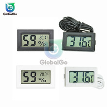 Mini Digital LCD Indoor Convenient Temperature Sensor Thermometer Hygrometer Temperature Humidity Meter Measuring Tool