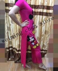 Nuevo 2017 estampado africano Algodón elástico Bazin pantalones holgados estilo Rock Dashiki traje famoso (camiseta y pantalones) para dama