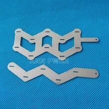 W образная никелевая полоса для аккумуляторов 18650, пластина из чистого никеля 10P или 5P, W образная никелевая лента, 18650 цилиндрическая литиевая батарея, никелевая шина