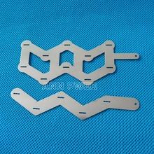 W type nickel bande 18650 batterie nickel pur tab 10 P ou 5 P en forme de W nickel ceinture 18650 cylindrique lithium batterie nickel jeu de barres