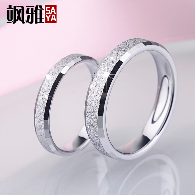 New Arrival Silver Color White Tungsten Ring for Couples in Wedding Brushed Surface Comfort Fit Band Free Engraving and Shipping