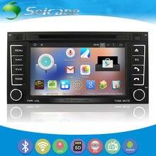 Seicane S127402 All-in-one Android 4.4.4 2003-2011 VW Volkswagen Touareg Sat Nav no Traço Carro Sistema de DVD com 3G WiFi AM FM Radio Bluetooth Música Espelho Link OBD2 16G Flash Quad-core CPU Retrovisor Camera USB SD