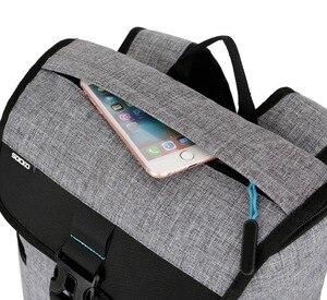 Image 4 - Chống Trộm Mới 17 17.3 Inch Ba Lô 15 15.6 Túi Đựng Máy Tính Xách Tay Cho Sony HP Dell Siêu Sáng Top bên Mở Đầu Phong Cách Ba Lô