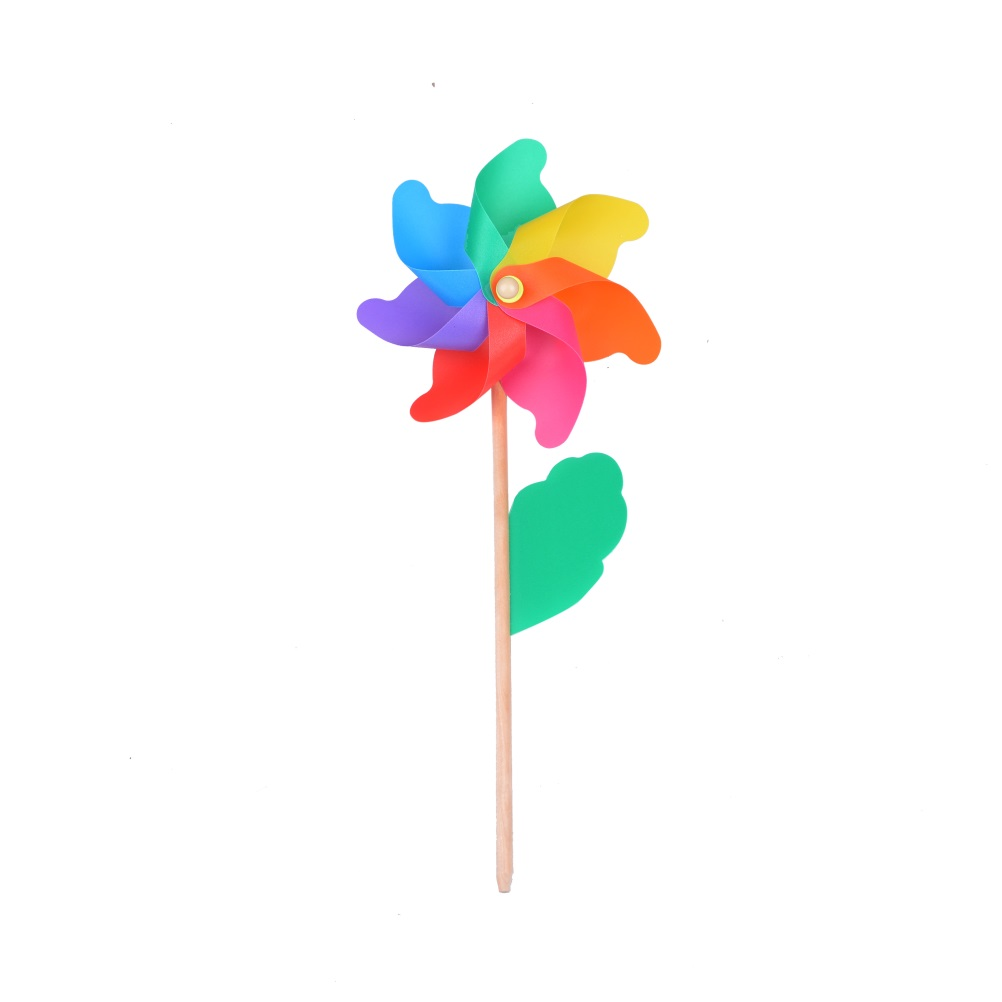 colorful windmill outdoor hand windmillls for children one pcs per