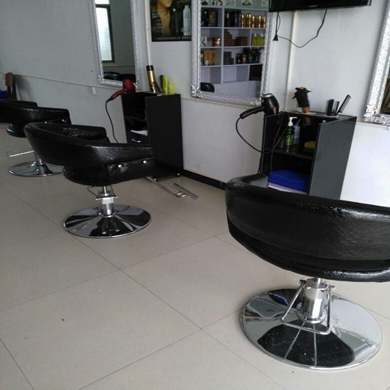 Новое парикмахерское кресло, вращающееся парикмахерское кресло, подъемное кресло с ручкой, парикмахерский салон, специальное парикмахерское кресло