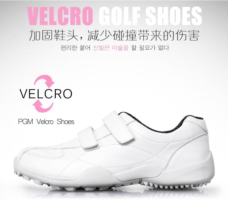Novo! PGM de golfe para crianças sapatos