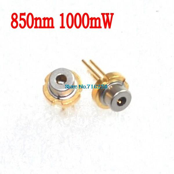 High Quality 850nm 1000mW 1W Infrared Laser Laser Diode/TO18-in Integrated Circuits from Electronic Components & Supplies