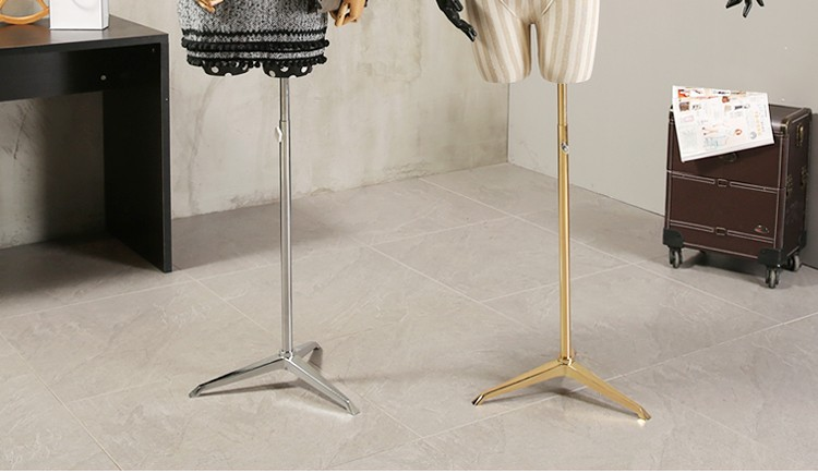 Props female half body mannequin cloth display rack high quality fashion mannequin women fabric mannequin with wooden arms (12)