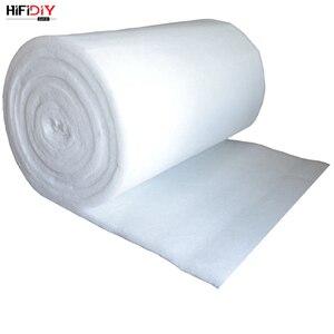 Image 5 - HIFIDIY חי 0.2M פוליאסטר סיבי צמר אקוסטית חומר בידוד קול קליטת כותנה לבן כותנה מעכב להבה 1m * 0.2m