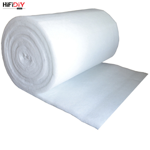 Image 5 - HIFIDIY LIVE 0.2M Polyester Fiber Wool Acoustic insulation  material sound absorbing cotton white cotton flame retardant 1m*0.2m