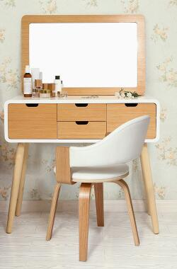 Dresser. Bedroom wall. Make-up studio at table dresser small family dresser and desk the bedroom clamshell economical multifunctional table