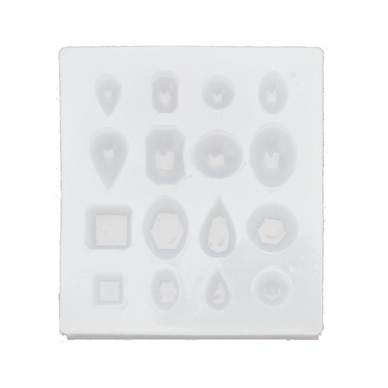 Кабошон драгоценный камень силиконовые формы овальные квадратные круглые формы смолы эпоксидные украшения изготовление