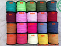 100yards/ Troll 2.7mm Width Flat Korean Velet Cord Leather Cord Jewelry Necklace Bracelet Material diy  Findings