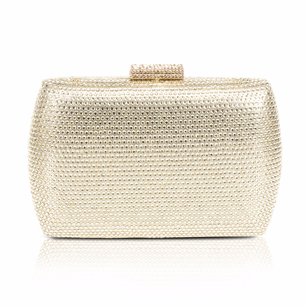 WALLYN'S Crystal Evening Bag Clutch Bag Wedding Purse Rhinestones Ladies Wedding Handbags Party Banquet Day Cluthch Shoulder Bag fashion women clutch evening bag luxury handbags banquet wedding party shoulder