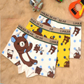 Children pure cotton underwear/ Breathable / loose / Comfortable / lovely / Cartoon /Large size/Flat angle pants/131128