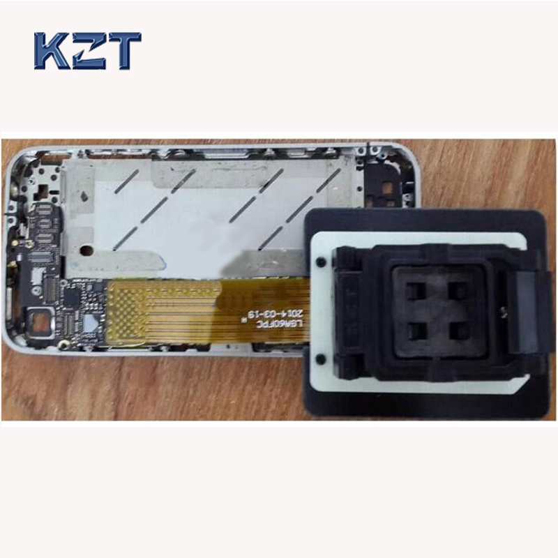LGA60 FPC flexible wire mobile phone repair socket iphone ipad Nand Flash memory IC chip HDD disk test refresh IOS for iphone 6s 128gb hardisk nand flash memory ic hdd chip