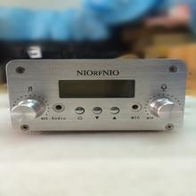 NIORFNIO 1W/6W FM Audio Amplier Radio Transmitter 76-108 MHz