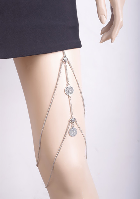 Legs Thigh Chain Jewelry...