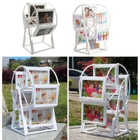 White Photo Frame Picture Frames Ferris Wheel Windmill Shape Home Decorate