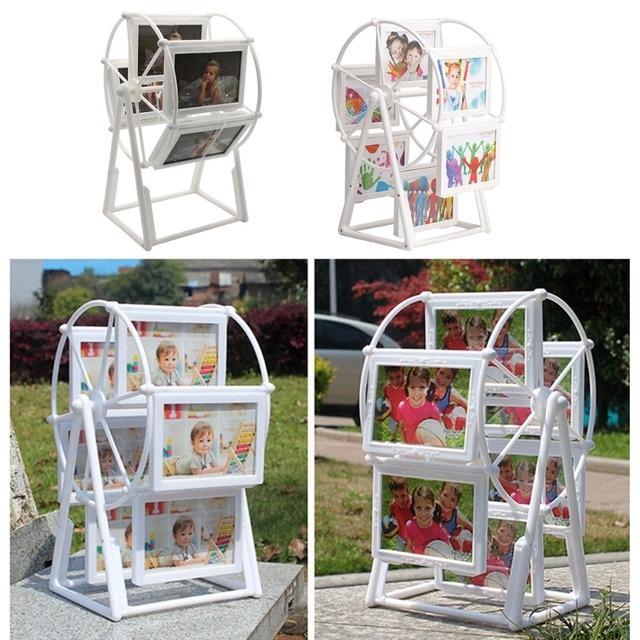 diy white photo frame picture frames ferris wheel windmill shape