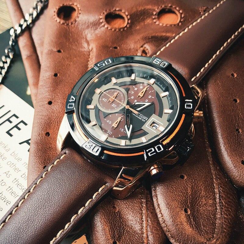 MEGIR Creative Fashion Quartz Watch Men Sports Watches Luxury Top Brand Waterproof Military Wristwatches Male Relogio Masculino
