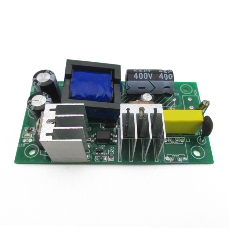 12V 2A switching power supply module board built-in power supply 220V AC-DC buck module bare board dc dc buck boost module for solar battery board red lm2577s lm2596s