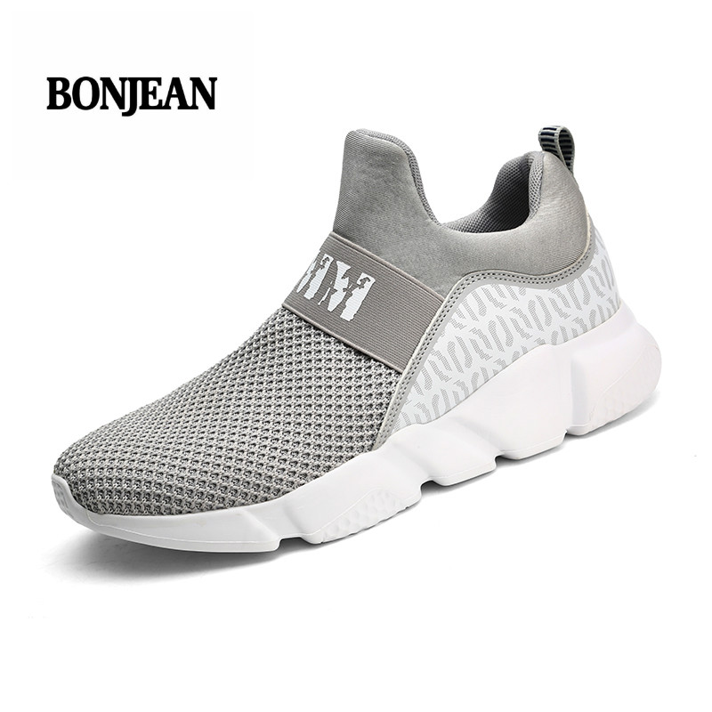 Tenis Masculino 2018 Summer Men Sneakers Breathable Mesh Sport Shoes Men Tennis Shoes Male Stability Athletic Men Trainers Cheap And To Have A Long Life. Sports & Entertainment Tennis Shoes