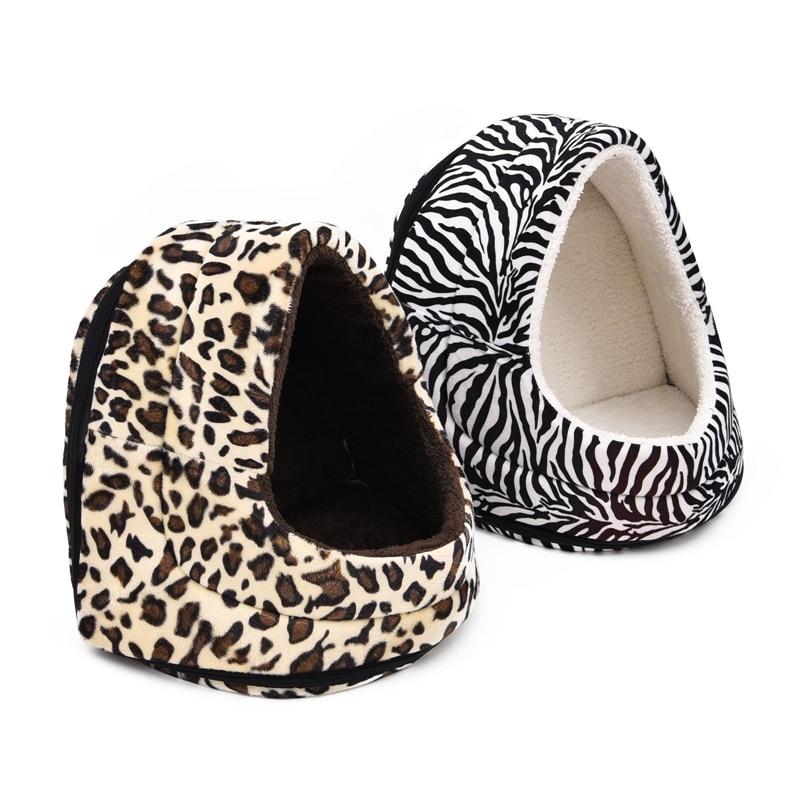 Zebra Stripe Dog Bed