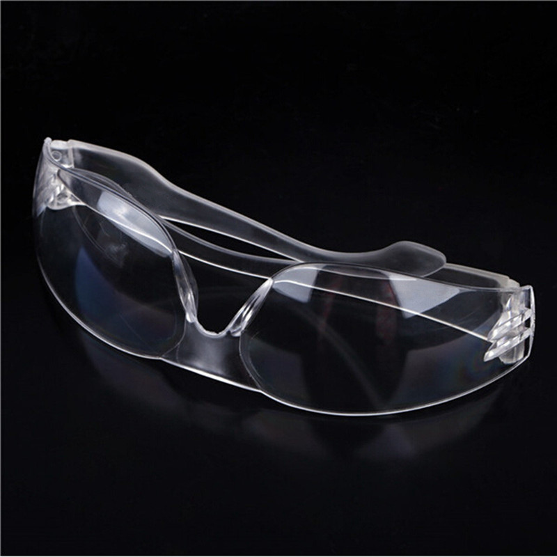 High Quality Fairshaped Design PC Transparent Safety Security Bike Motorcy goggles Dust Medical Protective Glasses folding transparent pc lens safety motorcycle goggles